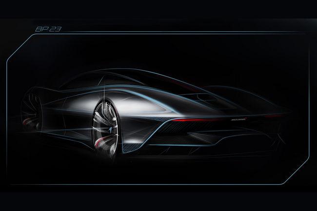 McLaren BP23 par Evren Milano