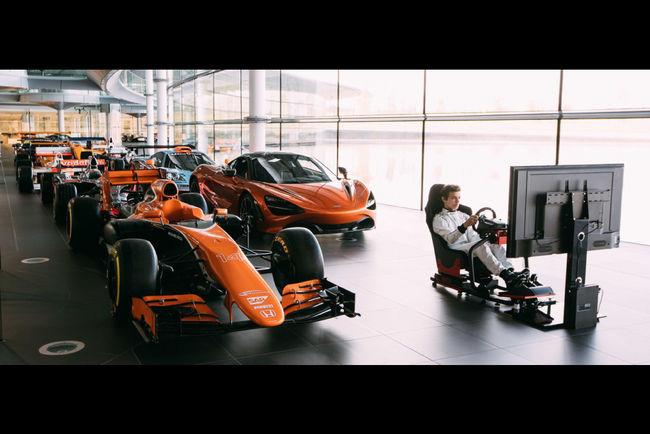 McLaren : cherche pilote pour simulateur