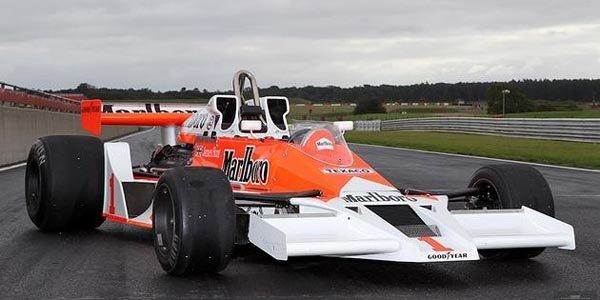 La McLaren ex-Hunt vendue 891 000 euros