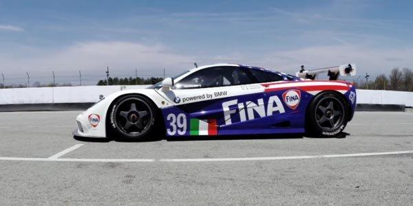 Une McLaren F1 GTR ex-Le Mans reprend la piste