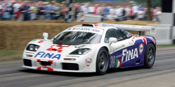 Goodwood fête la McLaren F1 GTR
