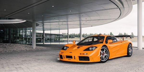 La McLaren F1 et Gordon Murray fêtés à Londres