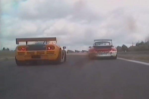 McLaren célèbre le titre BPR 1996 de la F1 GTR