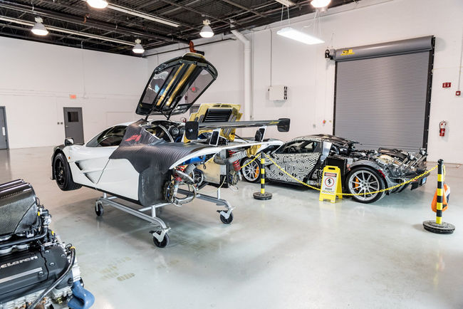 Un McLaren F1 Service Center en Pennsylvanie