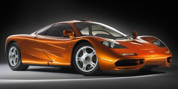 La future McLaren F1 en test