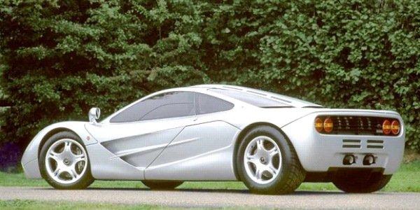 McLaren cassée, note salée pour Mr Bean