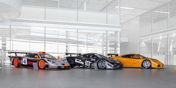 Trois McLaren F1 uniques à Goodwood