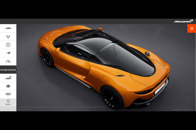 Configurez votre McLaren GT
