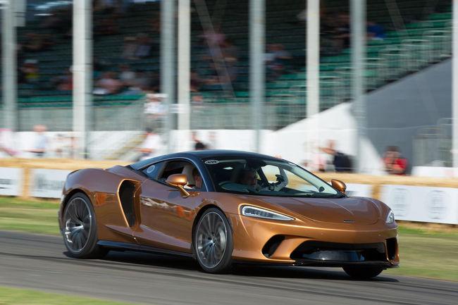 Nouvelle collection de bagages pour la McLaren GT