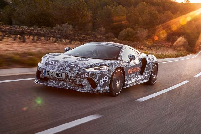 McLaren Grand Tourer : présentation le 15 mai