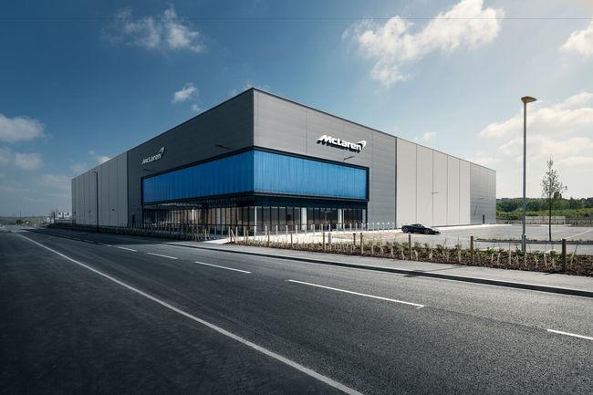 McLaren : inauguration royale pour le MCTC