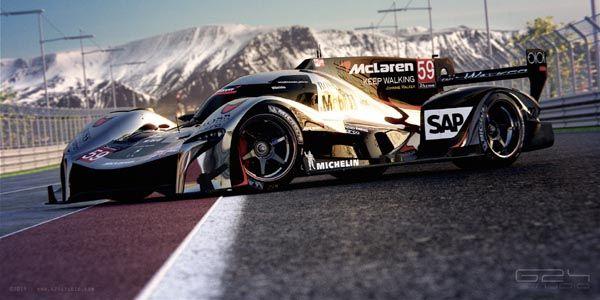 McLaren LMP1 par G24 Studio