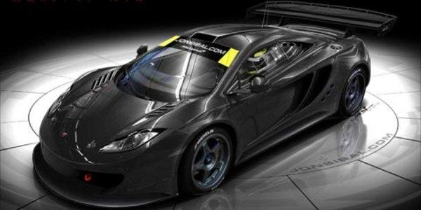 McLaren MP4-12C GTR rêvée par un designer