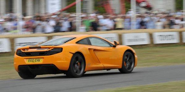 La McLaren MP4-12C présentée au public