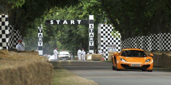 Déjà le succès pour la McLaren MP4-12