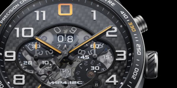 MP4-12C : une montre Tag Heuer