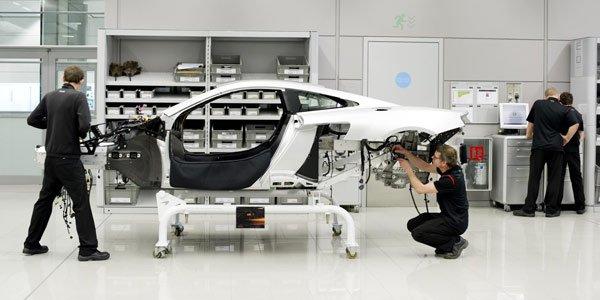 McLaren MP4-12C : c'est parti !