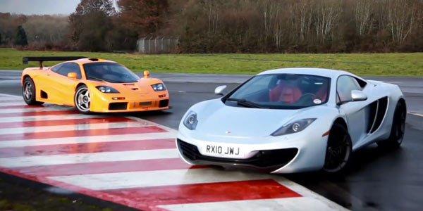 McLaren : la MP4-12C rencontre la F1