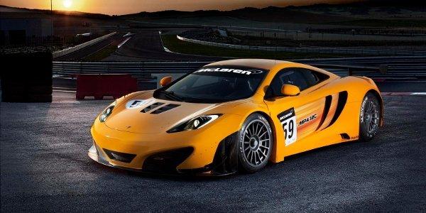 McLaren MP4-12C GT3 à Goodwood