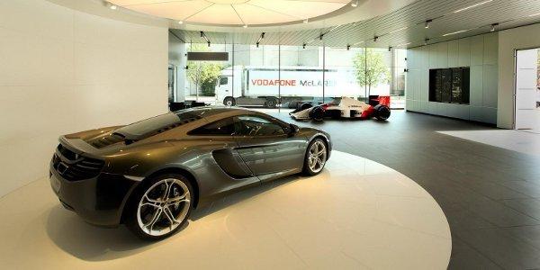 McLaren, premiers showrooms en Allemagne