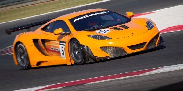 Trois McLaren MP4-12C GT3 aux 24H de Spa