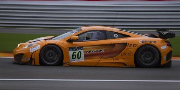 McLaren MP4-12C GT3, sold out pour 2012