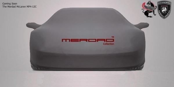 Francfort: Merdad McLaren MP4-12C