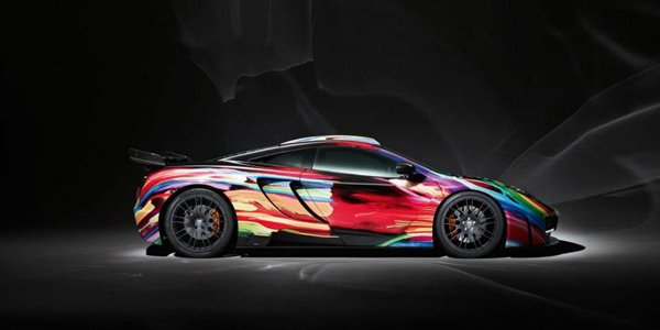 McLaren MP4 12C Art Car memoR by Hamann
