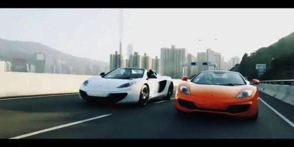 La McLaren 12C Spider arrive à Hong Kong