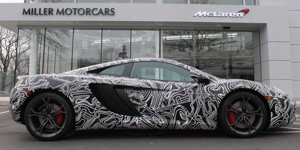 a vendre mclaren mp4 12c camouflage actualit automobile motorlegend. Black Bedroom Furniture Sets. Home Design Ideas