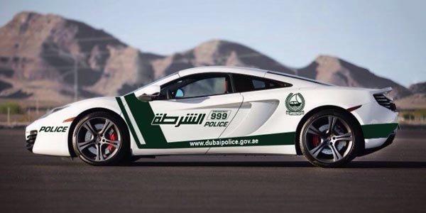 La Police de Dubaï en McLaren MP4 12C