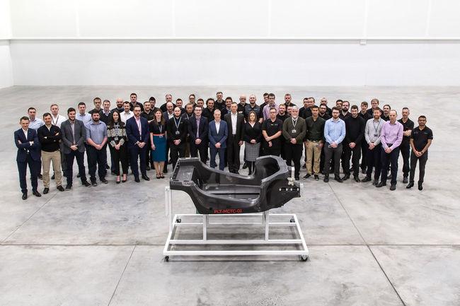 Le nouveau châssis en carbone de McLaren est arrivé