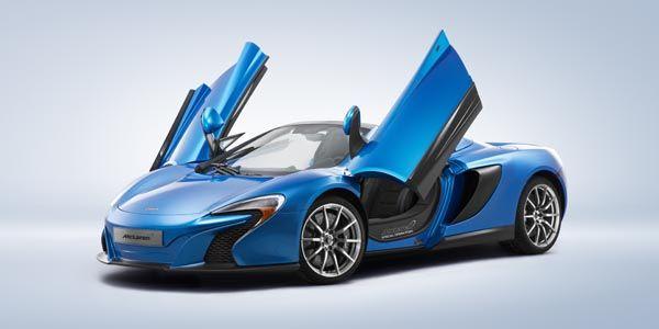 Des nouveautés pour McLaren à Pebble Beach