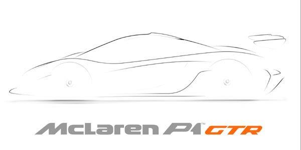 Dernier teaser pour la McLaren P1 GTR
