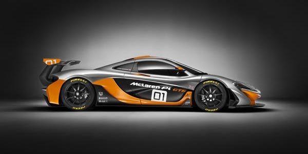 McLaren dévoile son concept P1 GTR à Pebble Beach