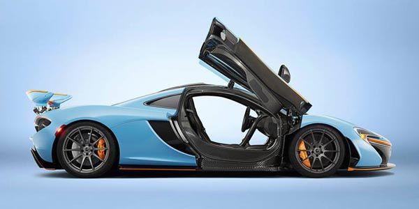 Livrée unique pour la nouvelle McLaren P1 de MSO