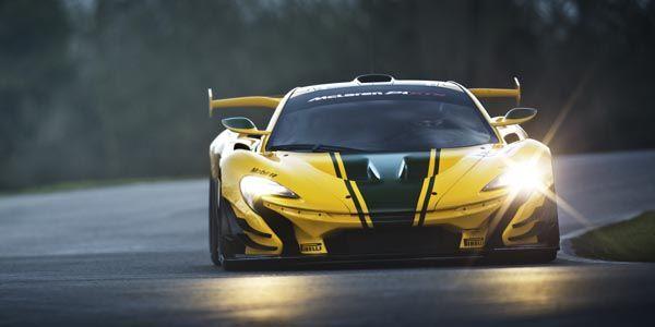 McLaren P1 GTR : la voilà