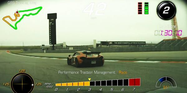 Vidéo : McLaren P1 vs Corvette Z06