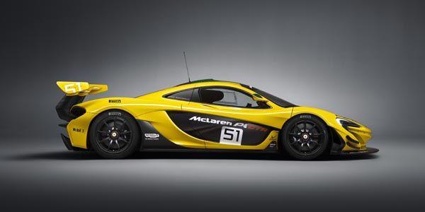 McLaren P1 GTR : elle laisse sans voix