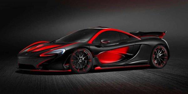 Une nouvelle déclinaison de la McLaren P1 par MSO