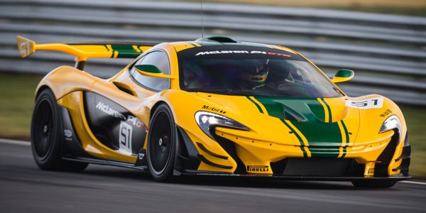 Senna instructeur du McLaren P1 GTR Driver Program