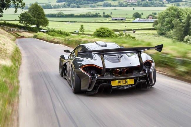 McLaren P1 LM : pour la route