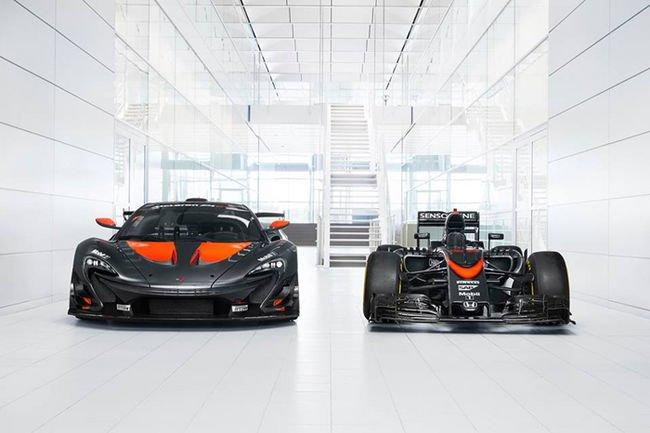 Une McLaren P1 GTR spéciale rentrée