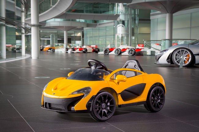 McLaren dévoile une P1 100% électrique