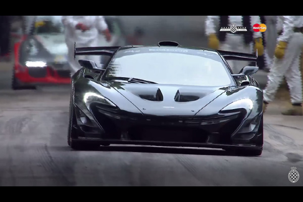 Record : embarquez en McLaren P1 LM à Goodwood