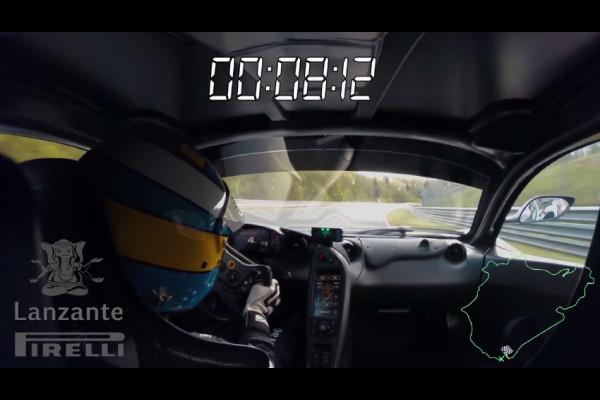 La McLaren P1 LM nouvelle reine du Ring