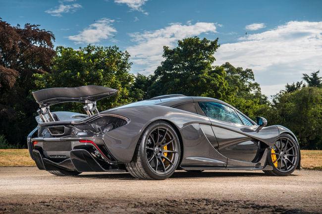 Offrez-vous la McLaren P1 de Jenson Button