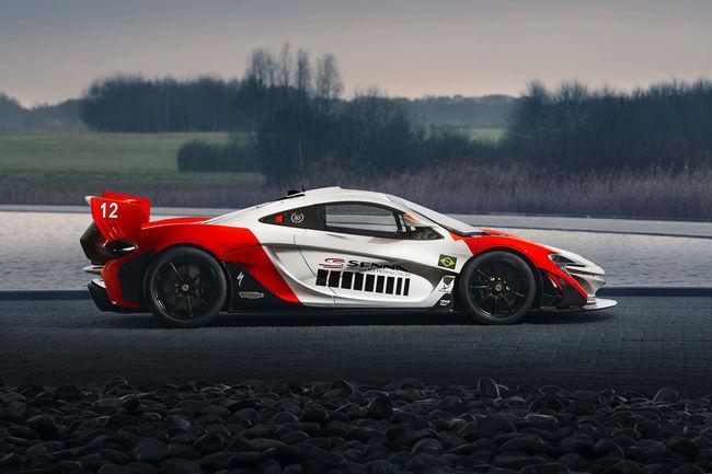 MSO crée une McLaren P1 GTR hommage à Ayrton Senna