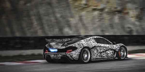 McLaren P1: première vidéo officielle !