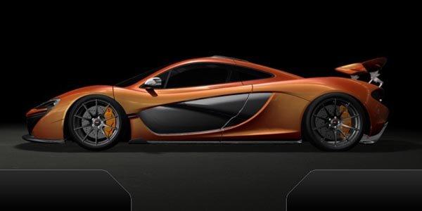 La McLaren P1 prête pour la piste